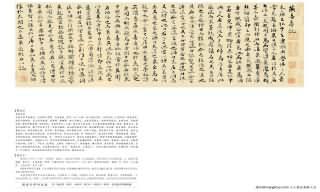 《燕喜亭等四記卷》書法真跡(小楷)【明朝·祝允明】