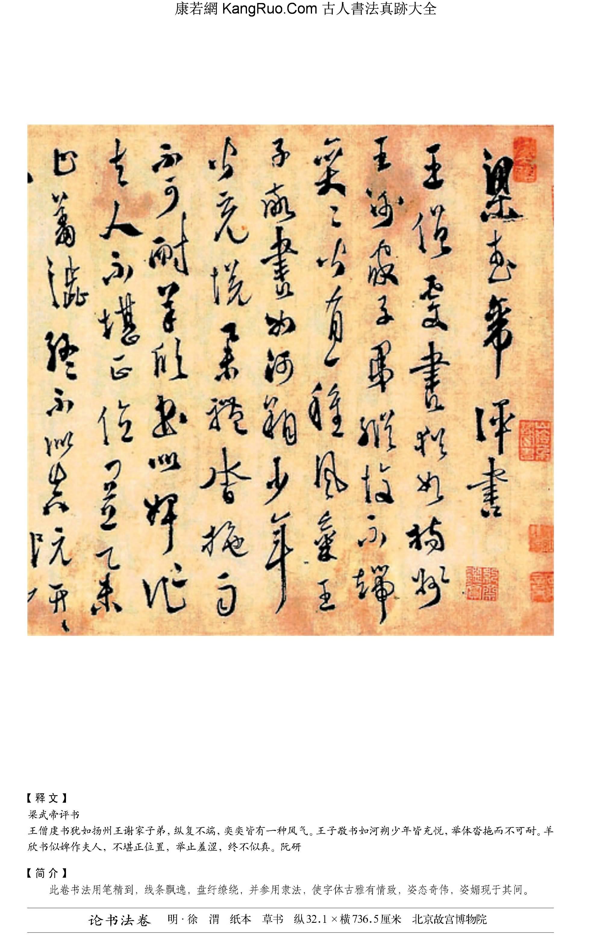 《論書法卷》書法真跡(草書)【明朝·徐渭】_00196